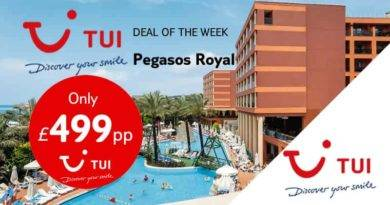 Pegasos Royal TUI Deal of the week